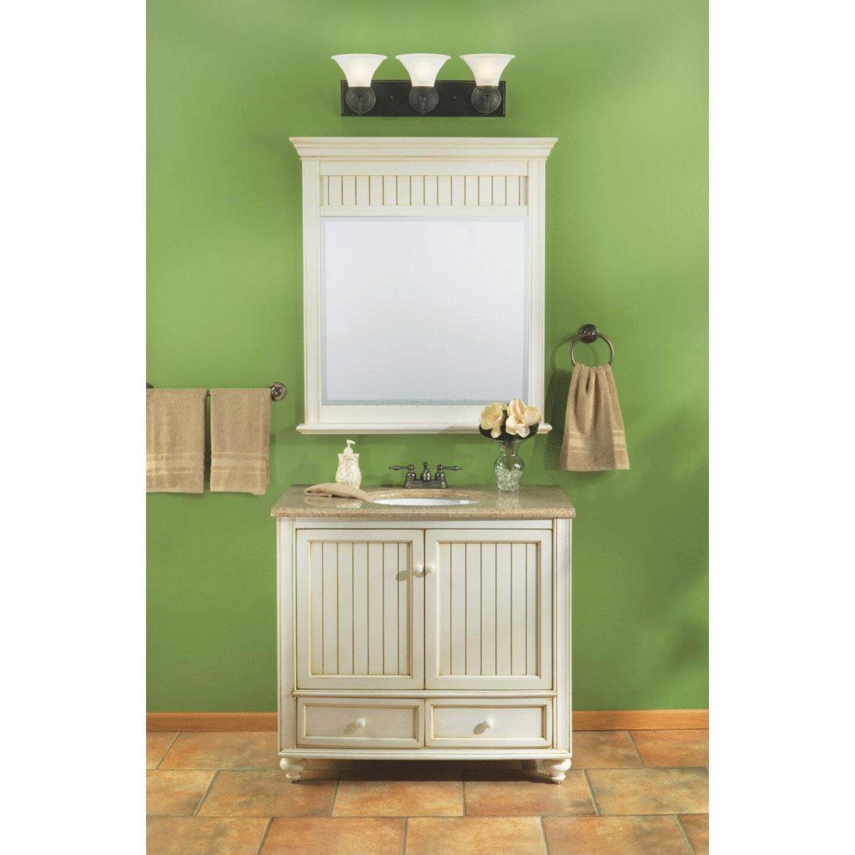 Sunny Wood Bristol Beach White 36 In. W x 34 In. H x 21 In. D Vanity Base, 2 Door/2 Drawer Image 2