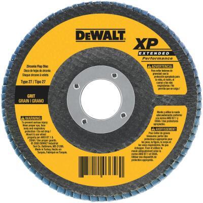 DeWalt 4-1/2 In. 36-Grit Type 29 High Performance Angle Grinder Flap Disc