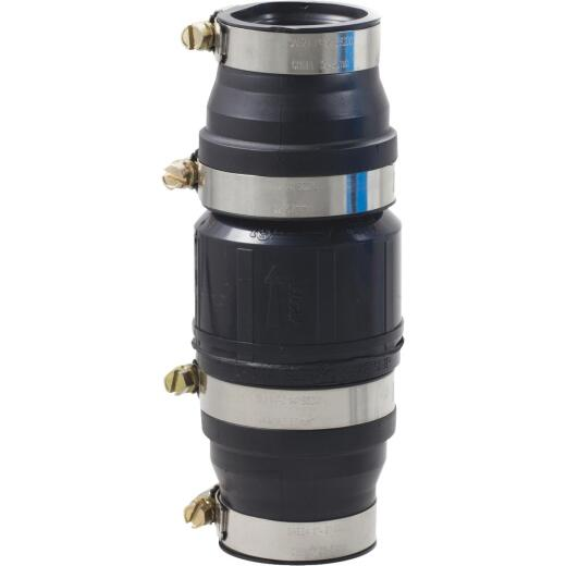 Drainage Industries 1-1/4 In. ABS In-Line Sump Pump Check Valve