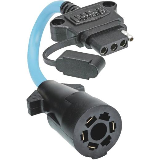 Reese Towpower Professional 7-Blade to 4-Flat Flex Professional Plug-In Adapter
