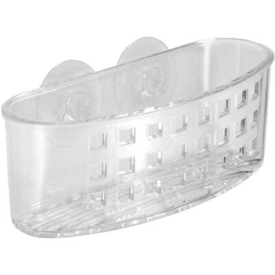 InterDesign 6.5 In. x 2 In. x 2.25 In. Suction Shower Basket