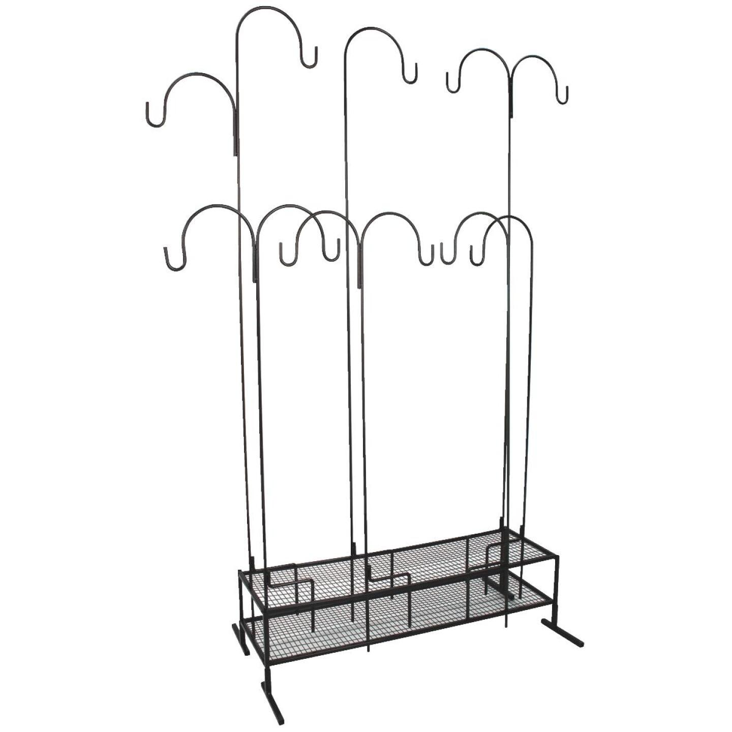 Best Garden Shepherd Hook Display Rack Image 1