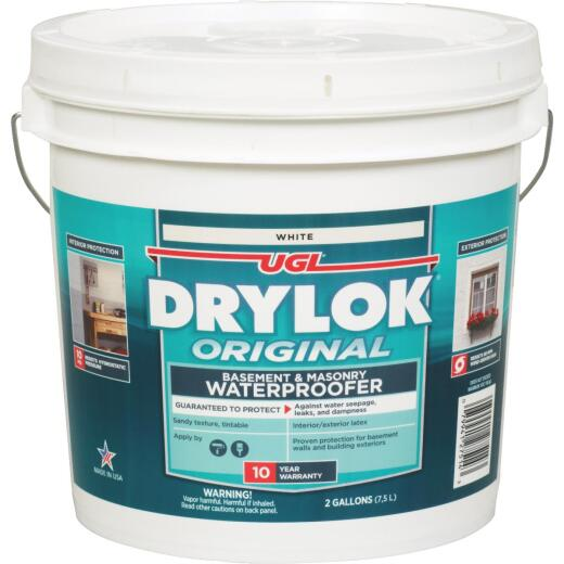 Drylok White Latex Masonry Waterproofer, 2 Gal.