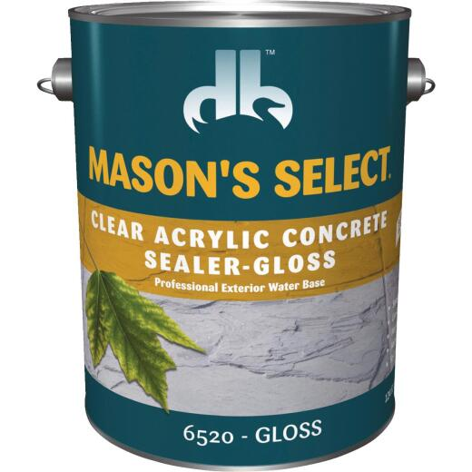 Duckback Mason's Select Clear Gloss Concrete Sealer, 1 Gal.