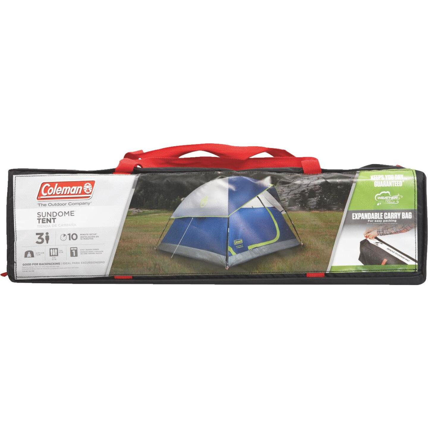 Coleman 3-Person 7 Ft. W. x 7 Ft. L. Dome Tent Image 2